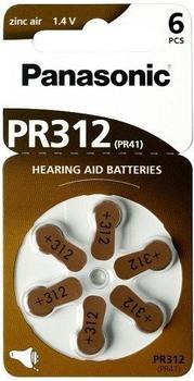 Panasonic Zinc Air PR312 (6 St.)
