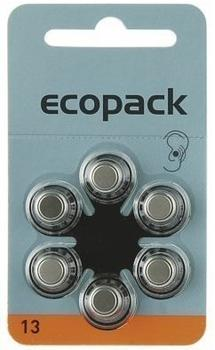 Varta Ecopack ZA 13 Knopfzellen 285 mAh 1,4V (6 St.)