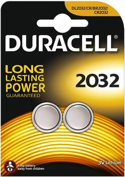 Duracell CR 2032 3V Long Lasting (2 Stk.)