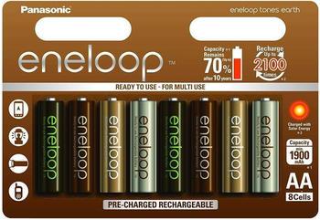 Panasonic eneloop earth tones limited edition AA 1900mAh 8 St. (BK-3MCCE/8UE)