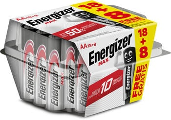 Energizer Max AA 1.5V 26 Stck.