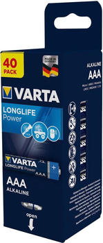 Varta Longlife Power 40 pc.