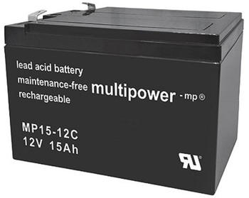 Multipower AGM Zyklen (Mp15-12C)
