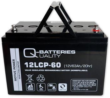 Q-Batteries AGM Zyklen (12LCP-60)