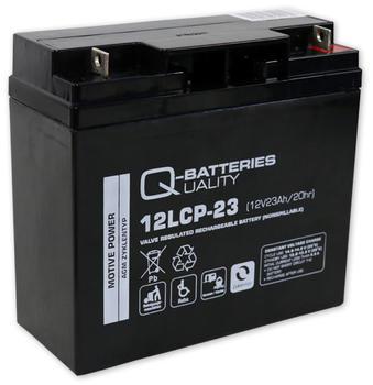 Q-Batteries AGM Zyklen (12LCP-23)