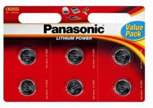 Panasonic Cr2032 Pk6