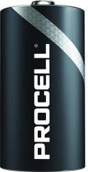 Duracell Procell D Battery 10 Pack Black