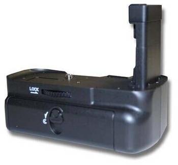 vhbw Batteriegriff kompatibel mit Nikon D5100, D5200, D5300