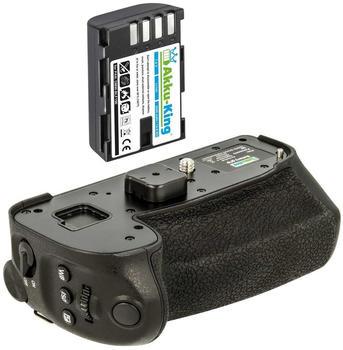 Akku-King Batteriegriff Set für Panasonic Lumix DC-G9