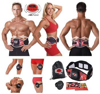 BEST DIRECT Gymform ABS-A-Round PRO Muskeltraining und Massagegürtel, Größe LXL Taille (100-140cm)