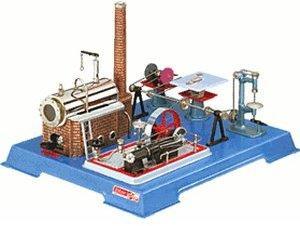 Wilesco D161 Dampfmaschine mit Werkstatt (00161)