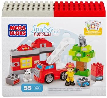 MEGA BLOKS Junior Builders - Feuerwache und Rettungsstation (7153)