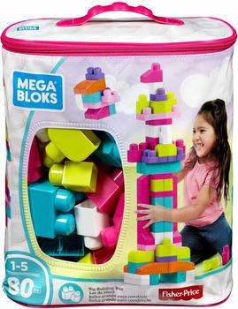 MEGA BLOKS First Builders Bausteinbeutel Groß pink (8328)