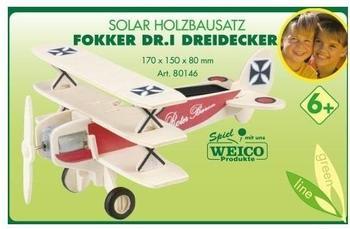 Weico Flugzeugbausatz Focker DR I Dreidecker