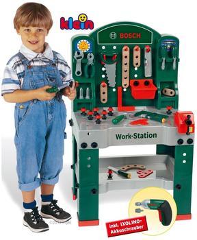 klein toys Bosch große Werkbank mit Akkuschrauber (8475)