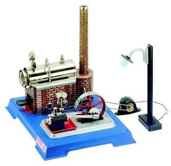 Wilesco D 105 Dampfmaschine Electric Light