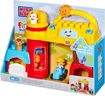 MEGA BLOKS First Builders - Bobby Barn Musikfarm (81255)