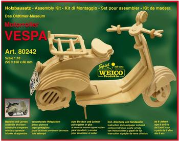 Weico Holzbausatz Motorroller Vespa