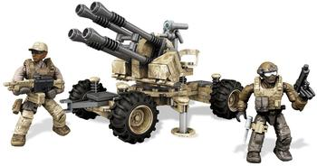 MEGA BLOKS Call of Duty - Anti-aircraft vehicle (DKX53)