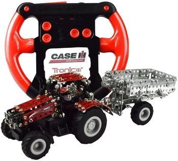 Rcee Traktor Case IH Magnum 340 mit Anhänger