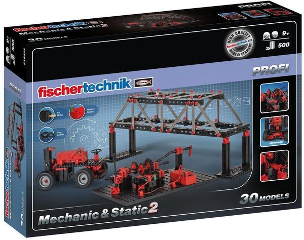 Fischertechnik PROFI Mechanic + Static 2