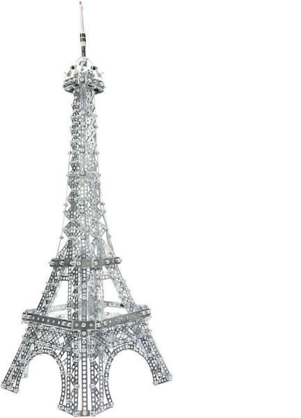 Meccano Eiffelturm beleuchtet