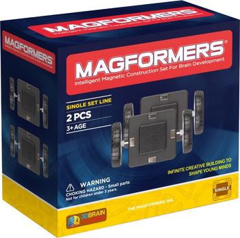 Magformers Räder mit Grundplatte 2