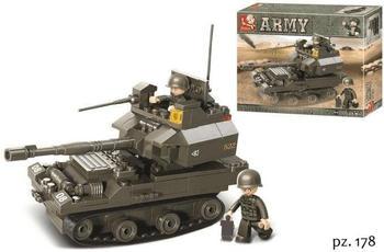 Sluban Battle Tank - army (M38-B0282)