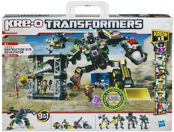Transformers KRE-O Construction Site Devastator