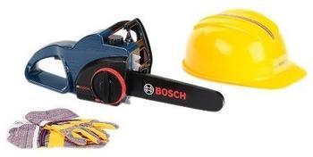 klein toys Bosch Kettensägeset mit Helm und Handschuhen (8253)