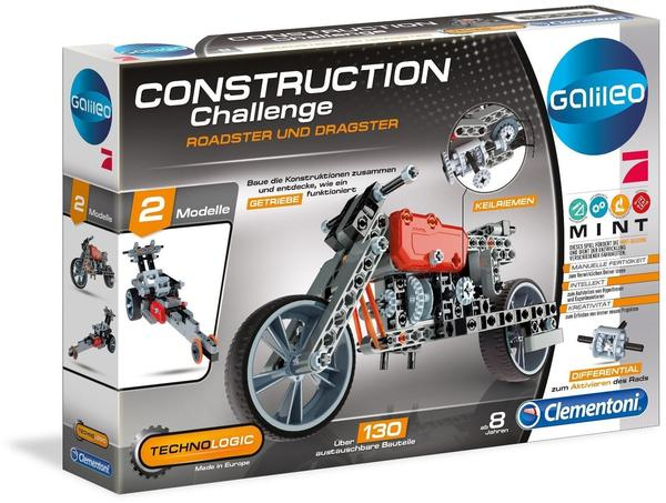 Clementoni Galileo Construction Challenge Roadster & Dragster