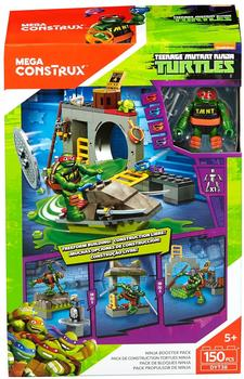 Mattel Mega Construx TMNT Ninja Bauset,