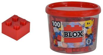 Simba Blox 100 rote 4er Steine