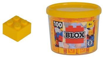 Simba Blox 100 gelbe 4er Steine