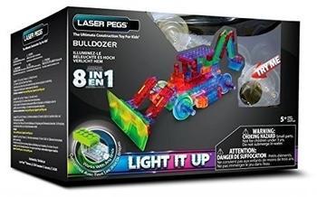 Laser Pegs Bulldozer 8-in-1