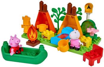 Big Bloxx Peppa Pig Camping Set