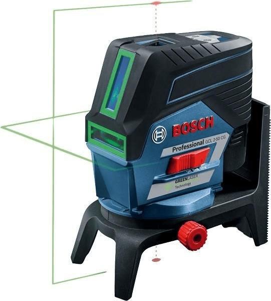 Bosch GCL 2-15 CG (1 x 2,0 Ah + RM 2 + RM 3 + L-Boxx)