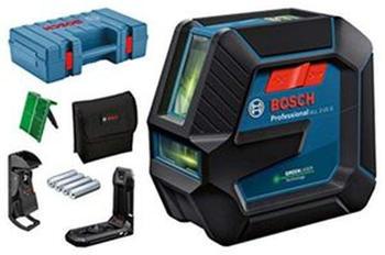 Bosch GLL 2-15 G (+ Laserzieltafel + Deckenklemme DK 10) 0601063W02