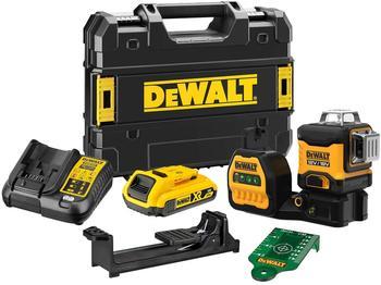 Dewalt DeWalt 3 x 360 Multilinien Laser Grün 18V (DCE089D1G18-QW)