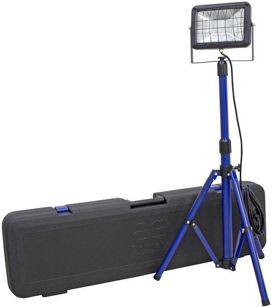 AS Schwabe Slimline Chip-LED-Strahler mit Stativ 30W im Transportkoffer (46404)