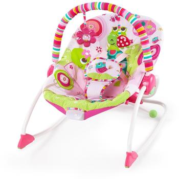 Bright Starts Raspberry Garden Rocker