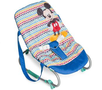 Hauck Babywippe Rocky Mickey Geo blau