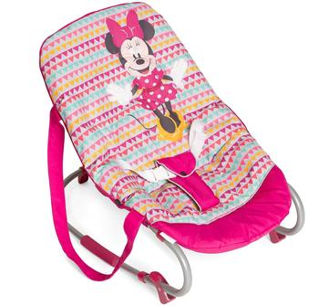 Hauck Babywippe Rocky Minnie Geo pink