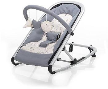 Baby Plus Wippe Isa grey/animal