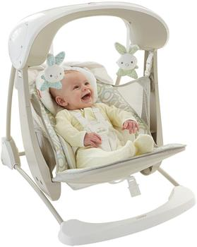 Fisher-Price Deluxe 2-in-1 Babyschaukel kompakt beige