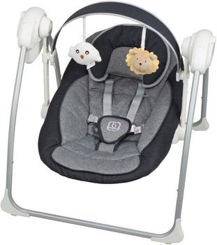 BabyGo Babywippe Dandly inkl. Adapter anthrazit