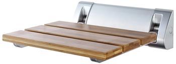 Ridder Duschklappsitz Bambusauflage beige