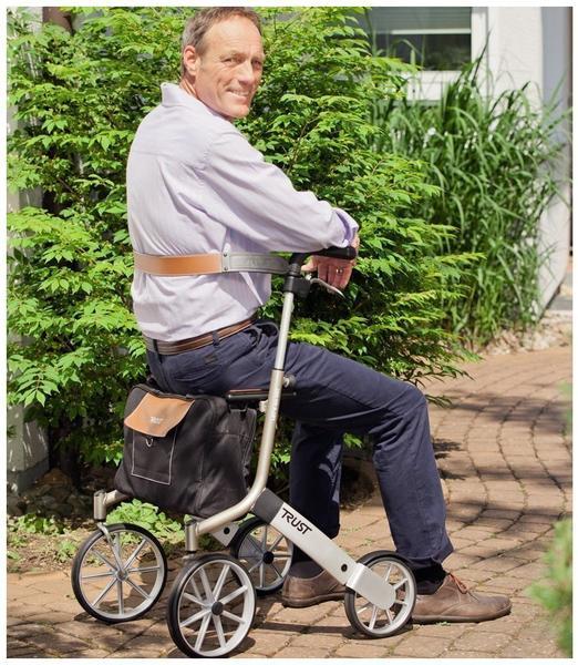 TRUST CARE Rollator Rückengurt 0153 braun