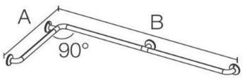 coram-pro-med-300-duschhandlauf-doppelt-edelstahl-gebuerstet-65x112-5cm-3030sg01pm