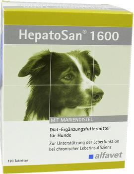 alfavet HepatoSan 1600 120 Tabletten
